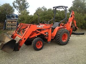 Tractor Loader with Backhoe Penna Sorell Area Preview
