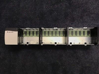 Allen-bradley Controllogix 1756-a17 B 17-slot Chassis W 1756-pa75 C Power