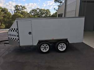 Enclosed Motorbike Trailer Annangrove The Hills District Preview
