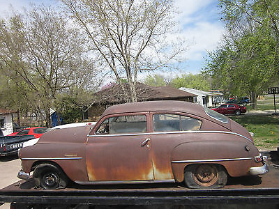 1952 52 2 door Plymouth Concord Fastback Street rod Hotrod Rat rod Antique Rest