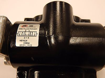 Ingersoll K614lm Air Valve Hand Lever Manual