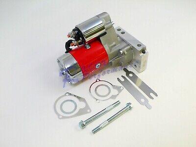 Tilton SBC BBC Chevy 3HP Mini Starter Gear Reduction High Torque 153 168 Red - Gear Reduction Torque