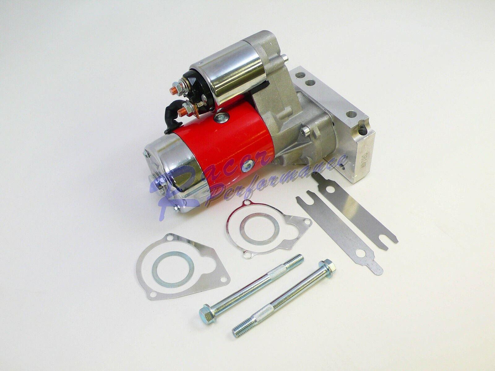 Sbc Bbc Chevy Mini Starter 3 Hp 3Hp Gear Reduction High Torque 153 168 Red