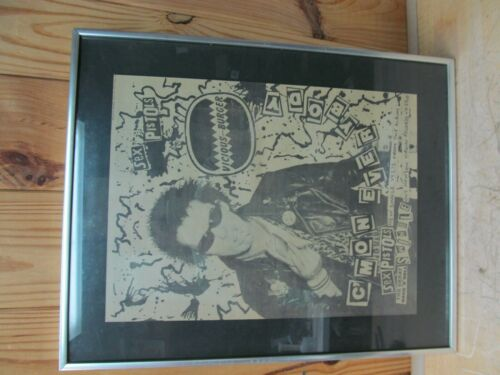Vintage Sex Pistols Magazine Rock Poster –C'Mon Everybody Sid Vicious