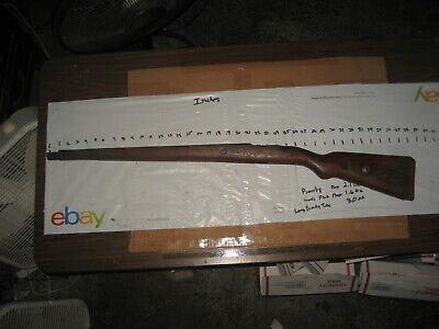 Rifle - Mauser Stock
