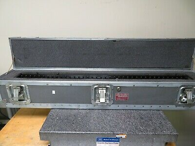 Starrett Webber Rbc-37 37 Standard Reference Bar With Channel Nx3