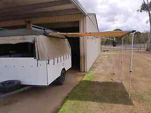 Enclosed bike trailer camping box 6x8.8ft Dundowran Fraser Coast Preview
