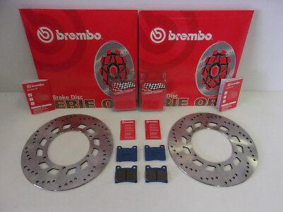 Brembo Bremsscheiben vorne komplett + Bremsbeläge Yamaha FJ 1100 1200 V-Max 1200