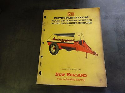 New Holland 344 345 Manure Spreader Service Parts Catalog  5-64