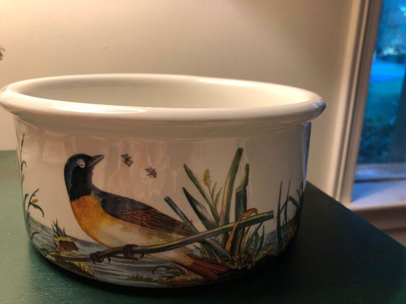Portmeirion Birds of Britain Soufflé Round Casserole Dish