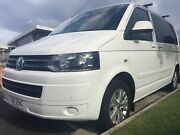 Volkswagen Multivan  2014 TDI340 White low kms Merewether Newcastle Area Preview