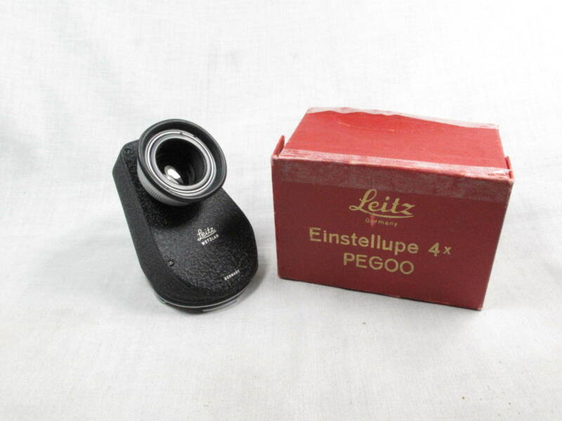 LEICA 45 DEGREE ANGLE FINDER FOR VISOFLEX I MINT