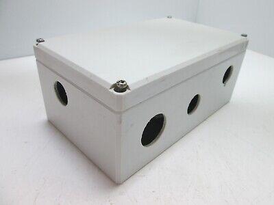 Hoffman Q-20129pcd Plastic Pushbutton Enclosure Box 200 X 120 X 85mm Holes