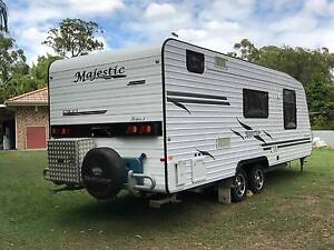 11/2010 MAJESTIC KNIGHT HEATED/AIR CON MODERN CARAVAN Caboolture Caboolture Area Preview