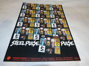 STEEL PULSE - Publicité de magazine / Advert BABYLON THE BANDIT !!!!!!!!! - France - Thme: Musique Impression: Couleur EAN: Non applicable - France