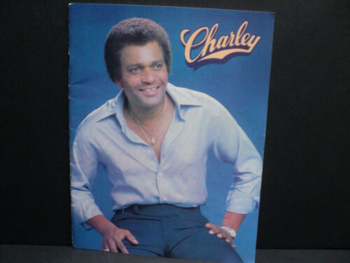 Charley Pride Souvenir Book 20 Pages Career Story & Pictures RARE!