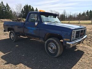 1987 GMC 3/4 ton 4x4
