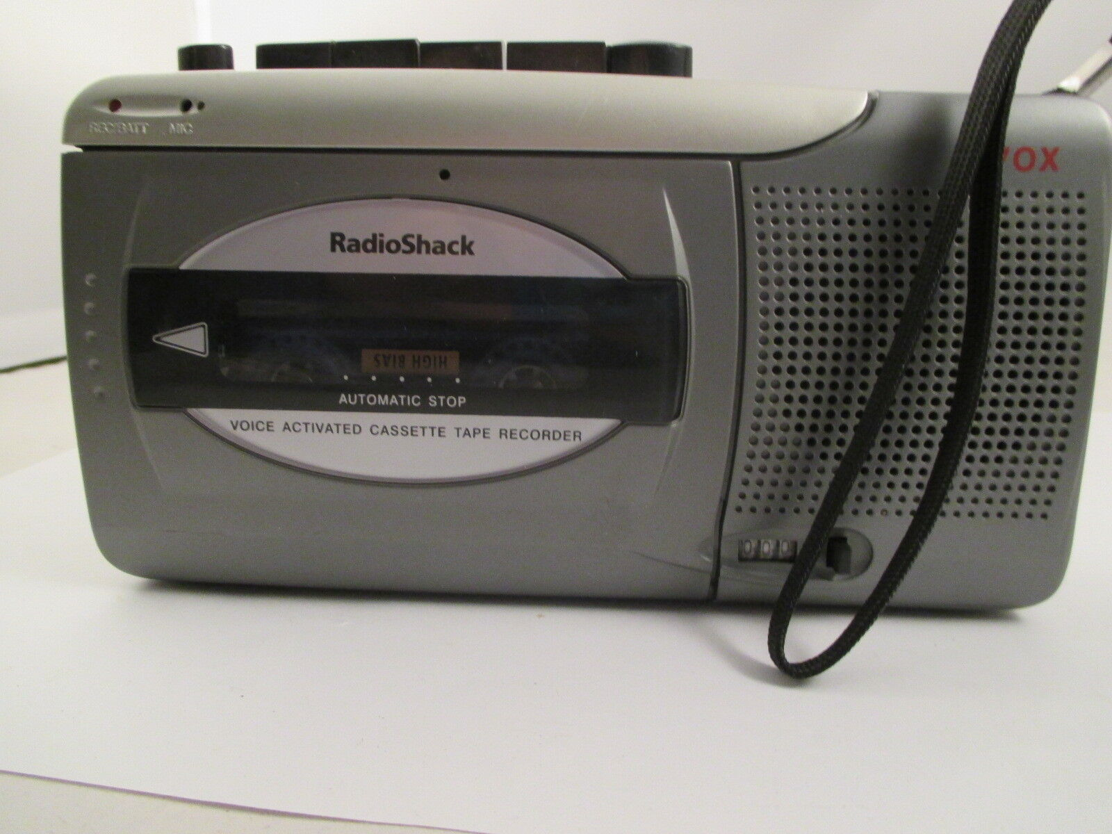 Radio Shack Voice Activated Cassette Tape Recorder CTR-123 *Batteries included*