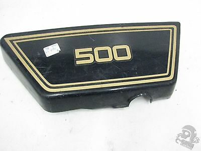 1978 <em>YAMAHA</em> XS500 RIGHT SIDE COVER FRAME COVER 1A8 21721 00 R7