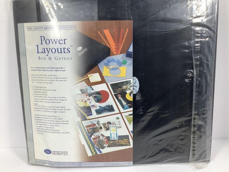 Creative Memories Power Layouts Box  NEW!