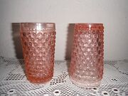 Depression Glass Tumbler Set