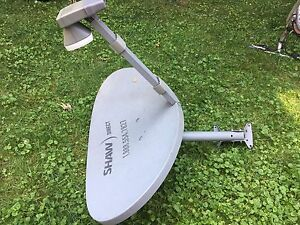 Shaw Direct Satellite Dish and receiver
