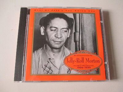 JELLY ROLL MORTON-INTRODUCTION-HIS BEST 1926-1939-BEST OF JAZZ 4008-CD-LIKE NEW
