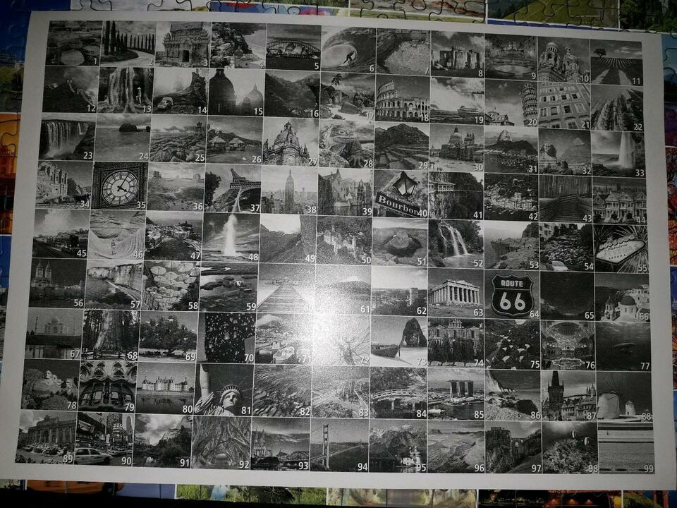 "1.000 Teile Puzzle ""99 Beautiful Places on Earth"" gebraucht in Hannover"