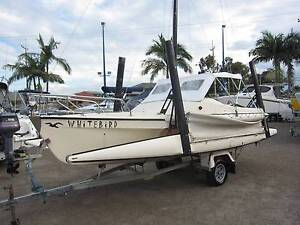 Haines Hunter Tramp Trailer Sailer Tingalpa Brisbane South East Preview