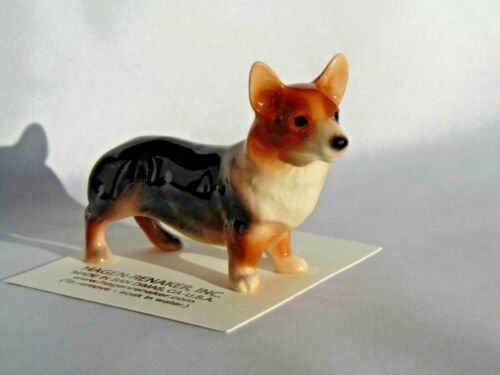 Hagen Renaker Dog Corgi Figurine Miniature New  3305 Free Shipping