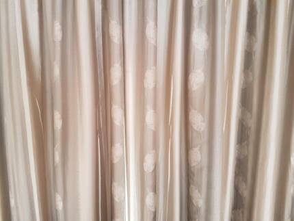Pinch pleat curtains - small