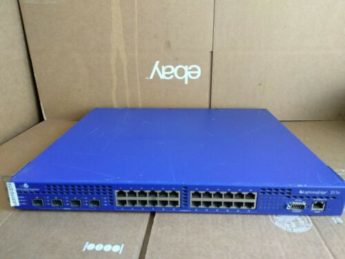 WORLD WIDE PACKETS LightningEdge 311V 24-Port Ethernet Switch LEAC-0311VB