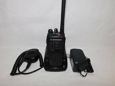 Motorola Ht750 Vhf 136-174mhz 16 Channel Analog Portable Radio Widenarrow Band