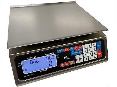 Tor-rey Pc-40l 40 X .01 Lb Price Computing Scales