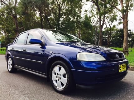 2003 Holden Astra CD Sedan Automatic Low Kms Moorebank Liverpool Area Preview