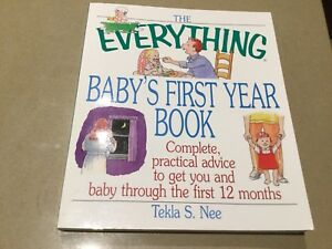 Book- The Everything Babys first year book Keilor Downs Brimbank Area Preview