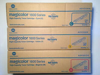 Konica Minolta magicolor 1600 toner cyan - magenta - yellow -  n e u -