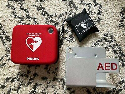 Philips Heartstart Onsite Business Aed Hs1 2022 Battery W Wall Mount Warranty