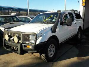 WRECKING 2007 NISSAN NAVARA DUAL CAB TURBO DIESEL MANUAL North St Marys Penrith Area Preview