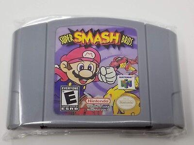 Super Smash Bros Nintendo 64 *Fast/Free Shipping*