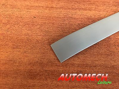 Super Quality Caravan/Motorhome Window Rubber Plastic Insert/Trim 23mm (GREY)