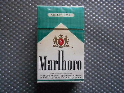 Marlboro Menthol  alte Zigarettenschachtel (436)