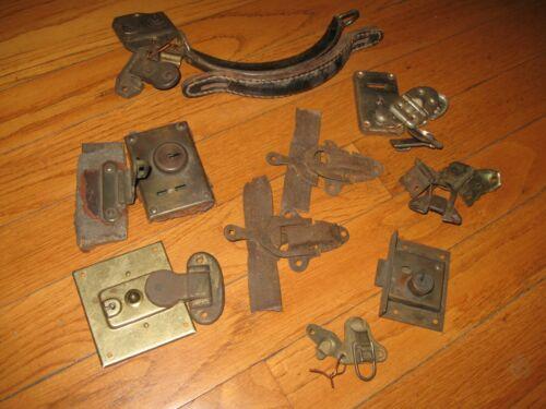 Antique & Vintage Steamer Trunk Chest Hardware Handles Locks