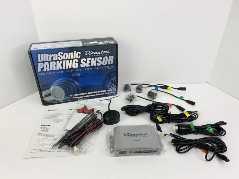 Directed Electronics Ultrasonic Parking Sensor Detection System 9401T No Display