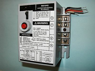 Honeywell R8184g 4009 Oil Burner Primary Control For All 45 Second Warranty