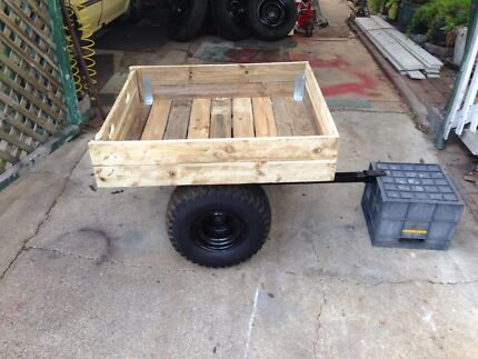 Ride on mower trailer Boondall Brisbane North East Preview