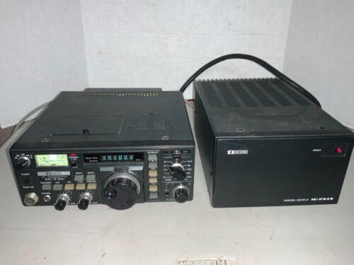 ICOM IC-730 HF 100 WATT TRANSCEIVER & POWER SUPPLY