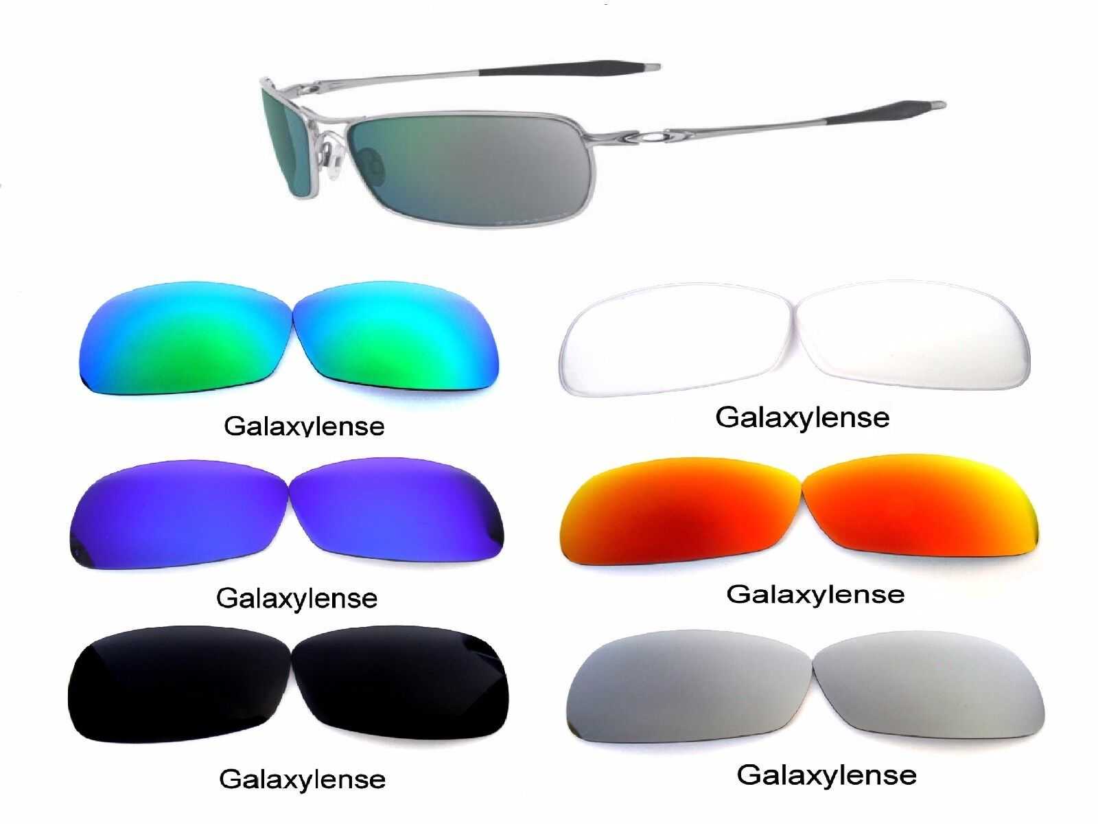 1cea82cb819 Galaxy Replacement Lenses For Oakley Crosshair 2.0 Sunglasses Multi-Color