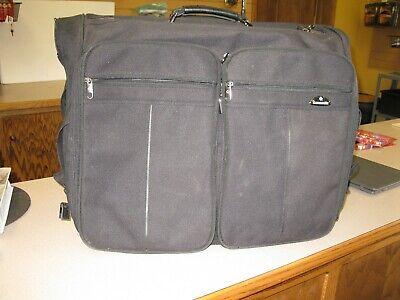 Samsonite Luggage Garment/Suit Bag Black ON WHEELS.