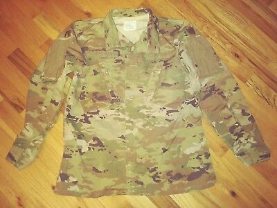 US ARMY MULTICAM COMBAT UNIFORM JACKET, COMBAT, 33 REG, USED, CLEAN!!